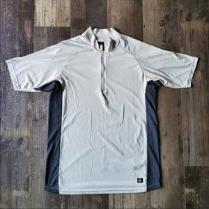 Nike Short Sleeve Golf Pullover.  Size L